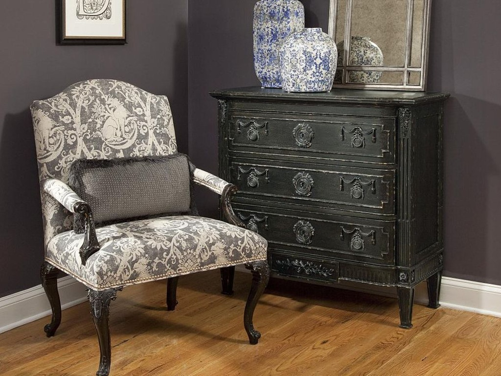 Fine furniture design living room hall chest olmsted 1347 for Furniture design for hall