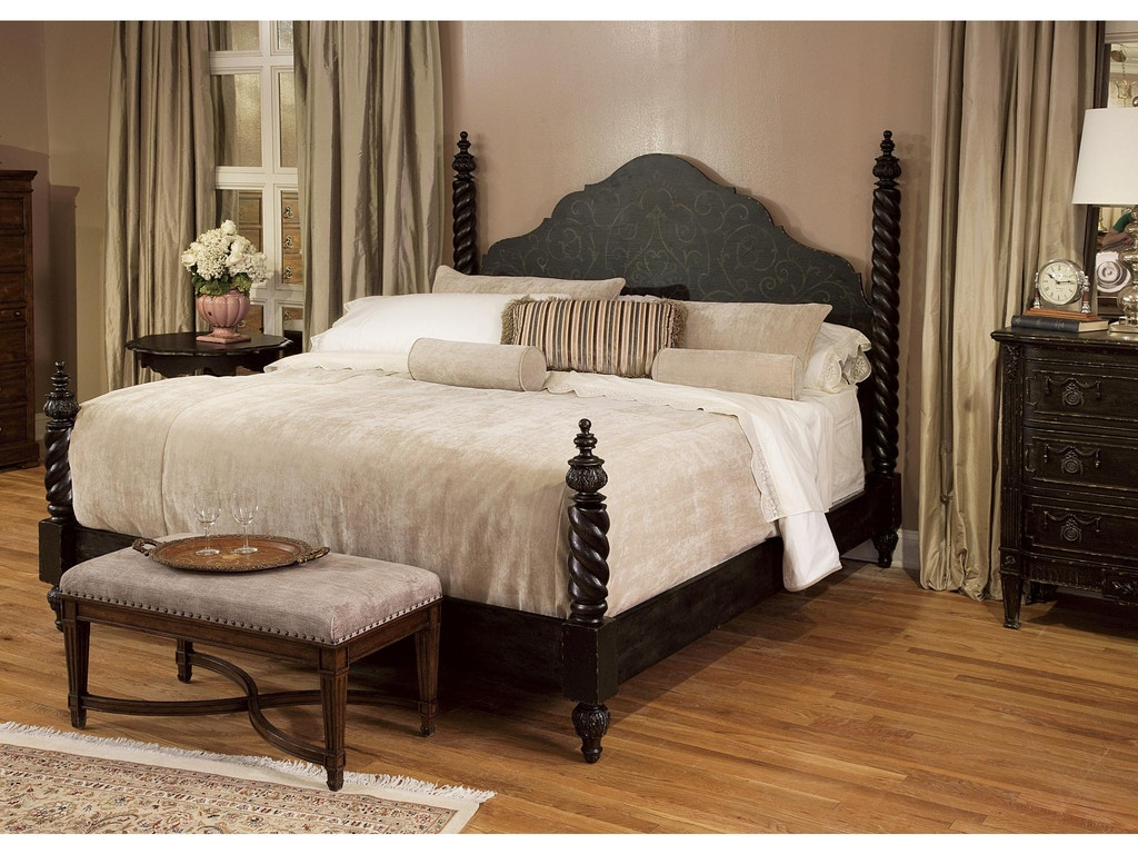 Fine Furniture Design Bedroom Bed Bench Vanderbilt 1340 502 Cherry House Furniture La Grange