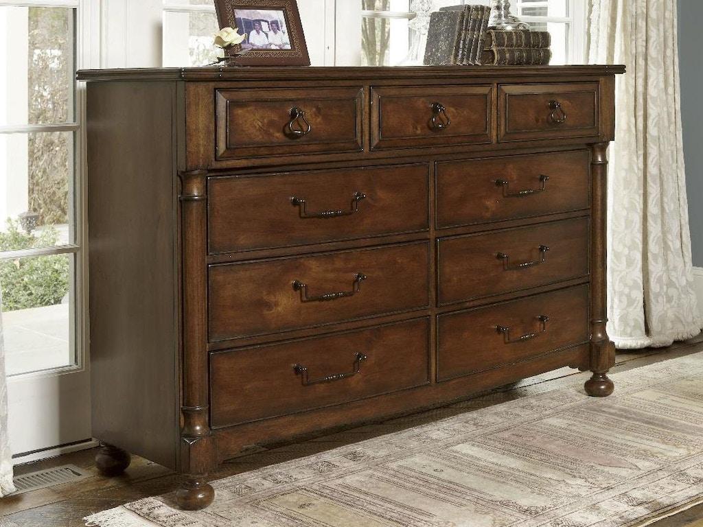 Bedroom Triple Dresser 1370 142 At Greenbaum Interiors
