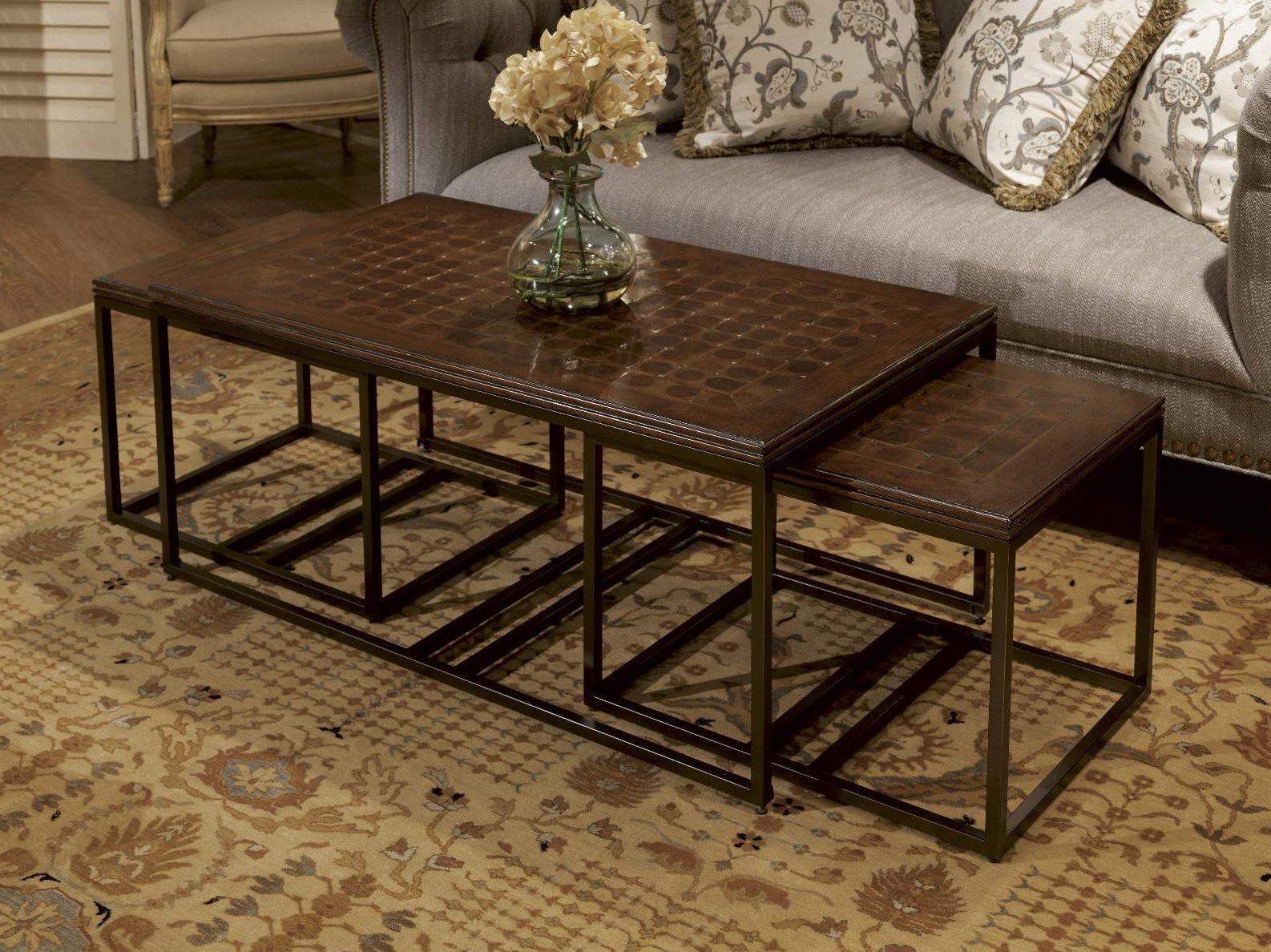 Fine Furniture Design Living Room Nesting Center Table