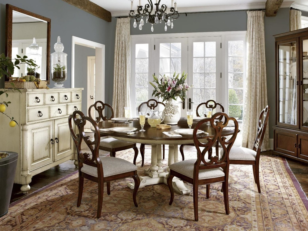Dining Room Side Chairs Elegant Seating: Fine Furniture Design 1370-824 Dining Room Scroll Dining