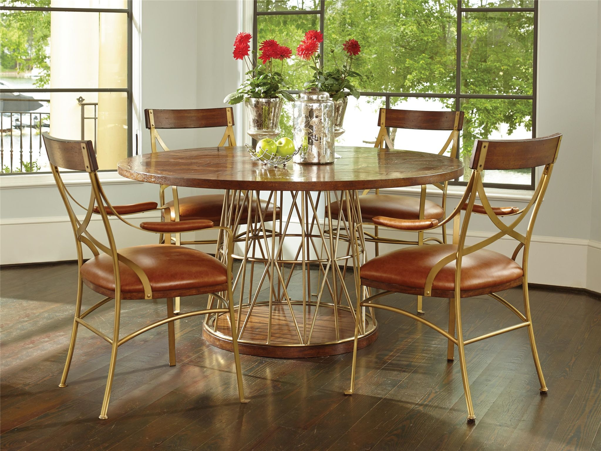 Attrayant Fine Furniture Design Andover Dining Table With Wood Top 1420 810/811