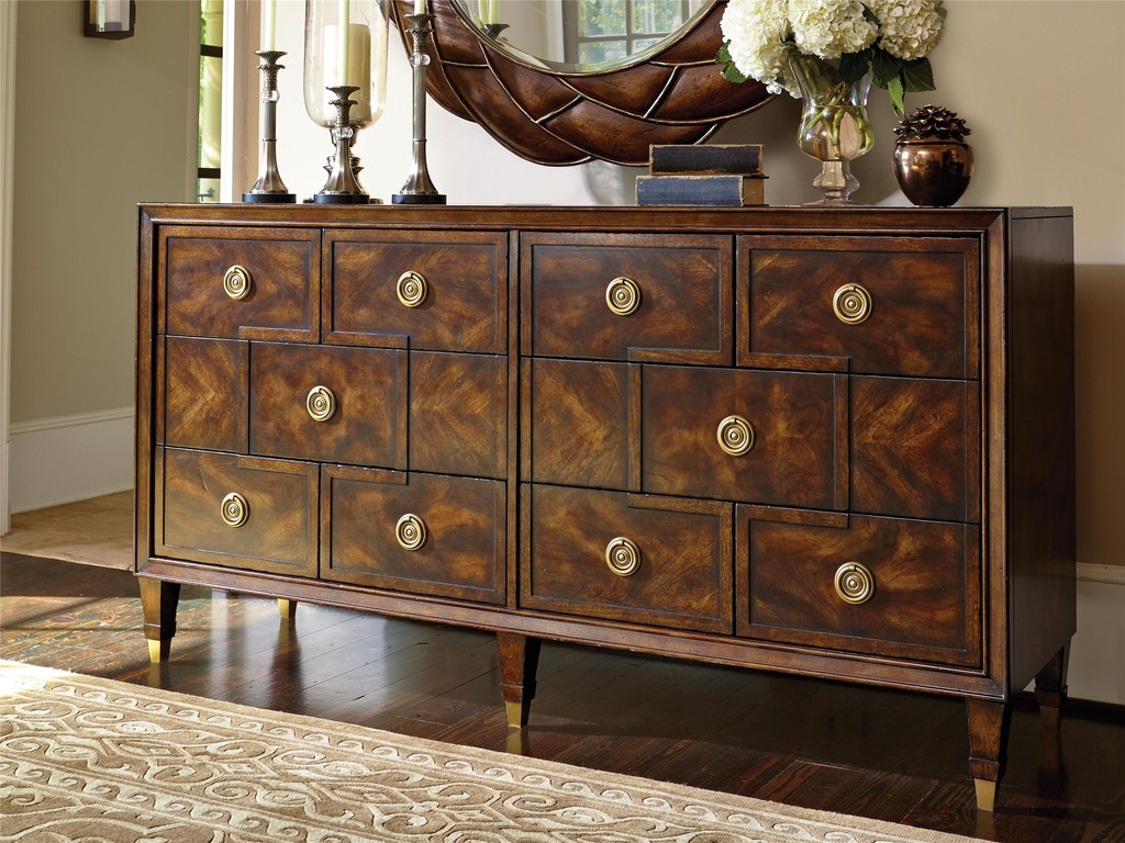 Fine Furniture Design Bedroom Dynasty Dresser 1427 144 Cherry House Furniture La Grange And