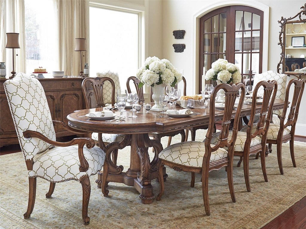 Fine Furniture Design Chateau Double Pedestal Dining Table 1450 819 818