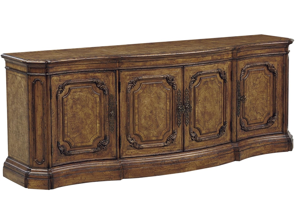Fine Furniture Design Home Entertainment Transatlantic Tv Credenza 1450 937 Thomasville Of