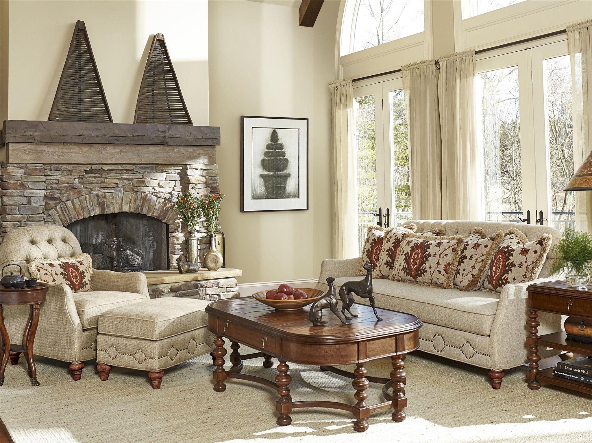 Fine Furniture Design Vestibule Tufted Back Sofa 4514 01