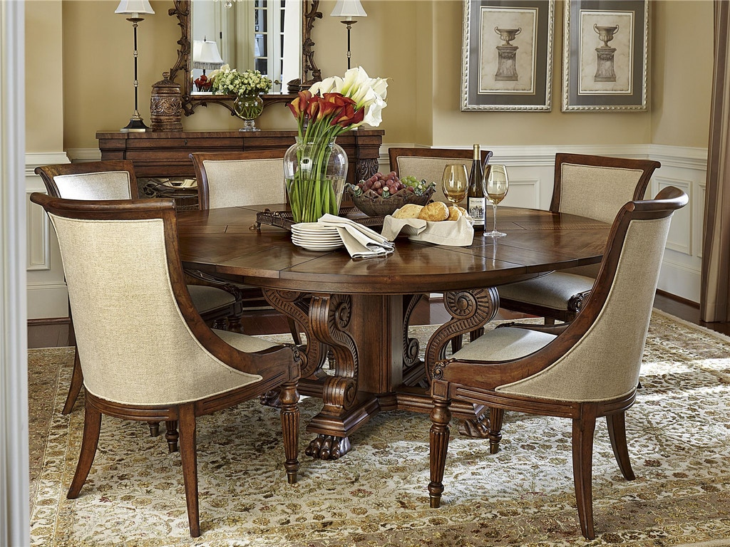 Fine furniture design dining room private reserve dining for Fine dining room tables