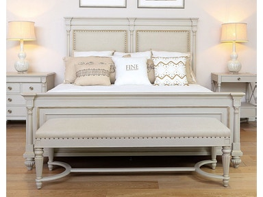 Fine Furniture Design Brookston Upholstered Bed, Queen 5/0 1511-451U/452/453