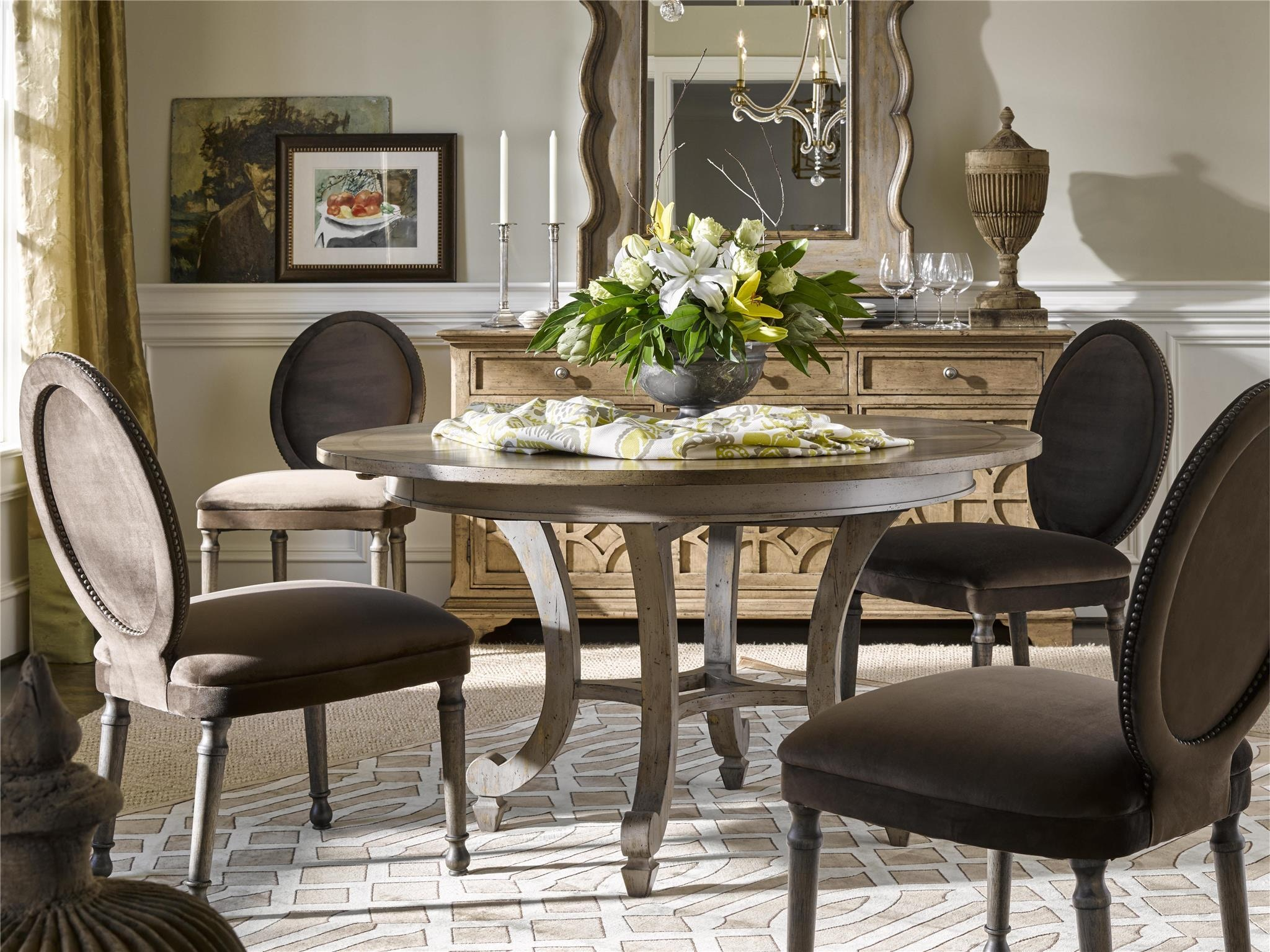 Fine Furniture Design Eastleigh Dining Table 1570 811/810