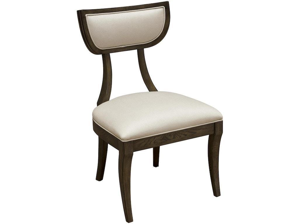 Fine furniture design dining room mina side chair 1584 820 for Fine dining room furniture