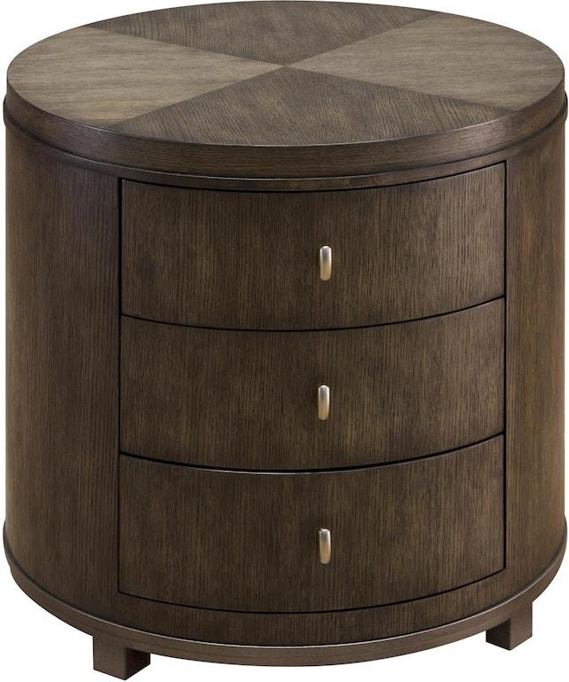 Fine Furniture Design Living Room Byron Drum Table 1584-972 - Marty ...