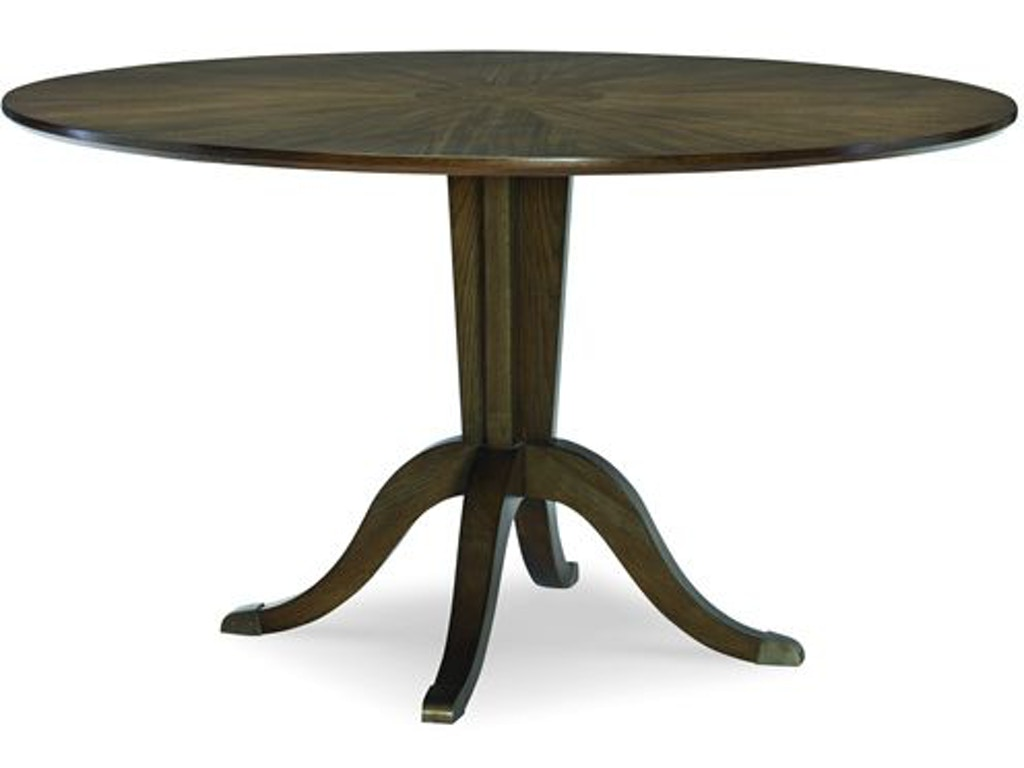 Fine furniture design dining room crosby round dining for Dining table base design