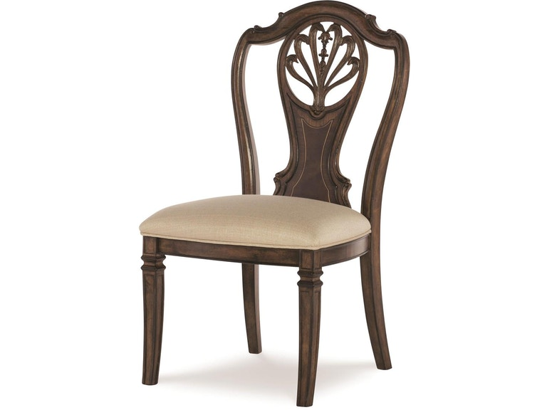 Fine Furniture Design Dining Room Splat Back Side Chair 1770 820 At Kalin Home Furnishings