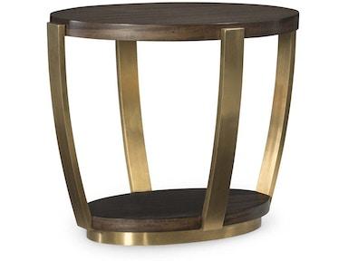 Fine Furniture Design Living Room Soiree Oval End Table