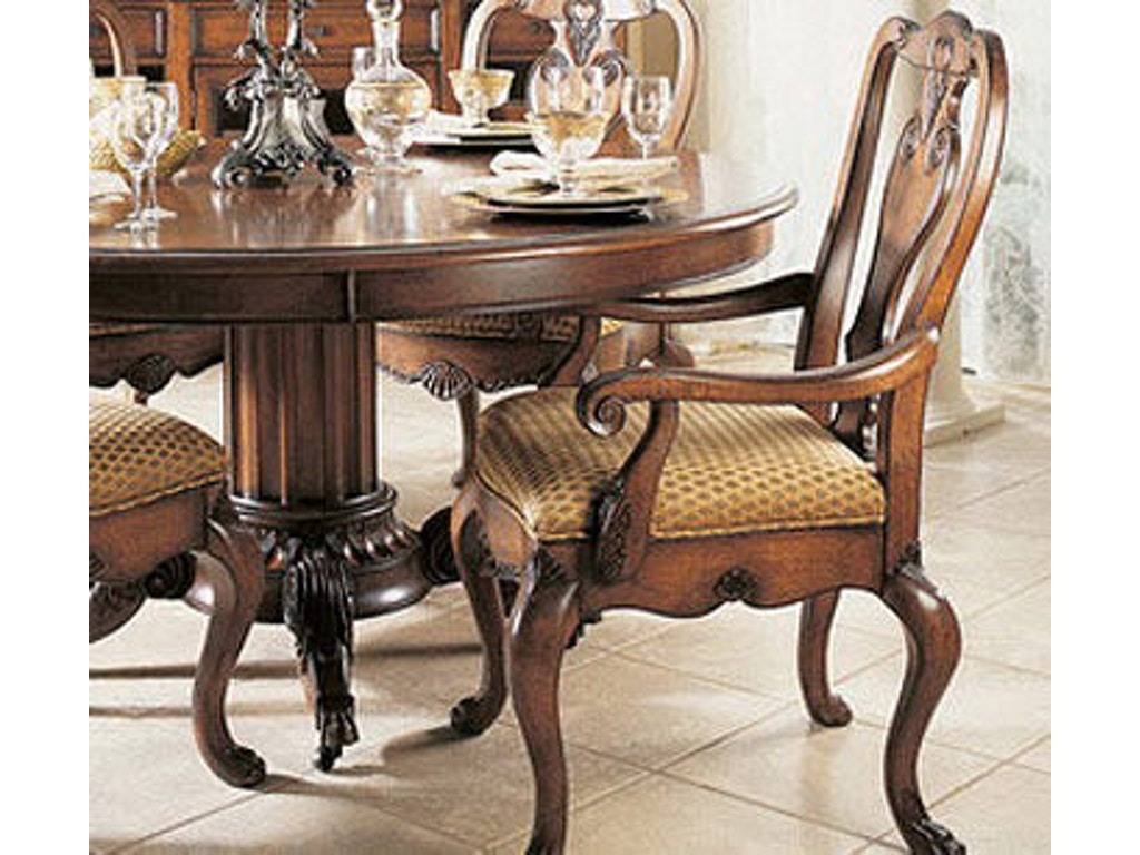 Fine furniture design dining room hearts of wine slat back for Fine dining room furniture