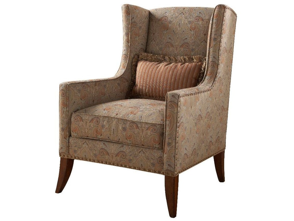 Fine furniture design living room wing chair 4001 03 for Fine furniture