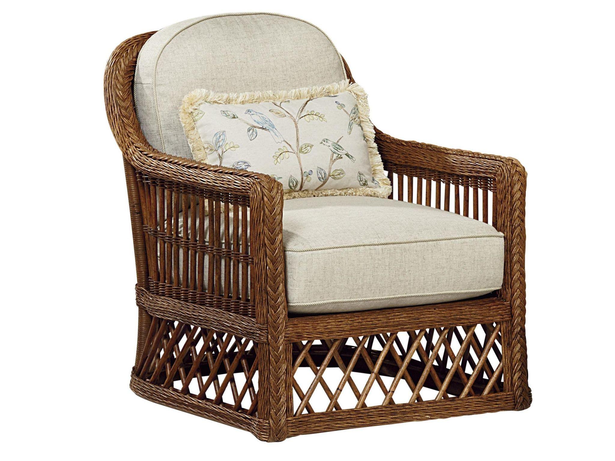 Fine Furniture Design Living Room Trellis Wicker Chair 4512