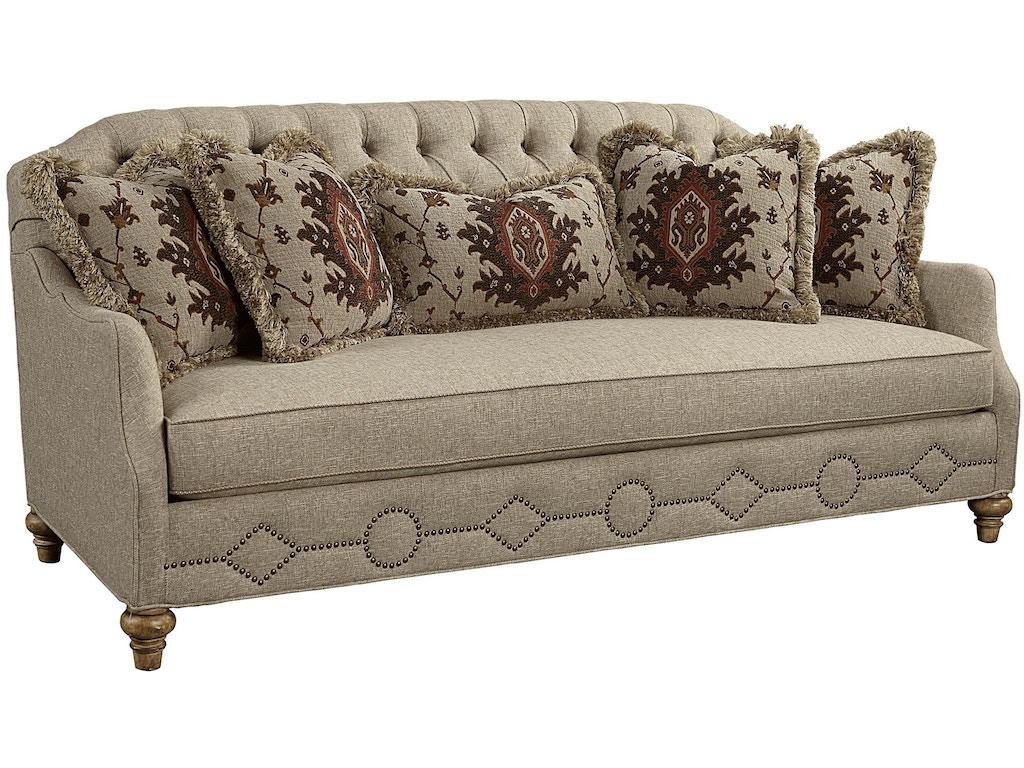 Fine Furniture Design Living Room Vestibule Tufted Back