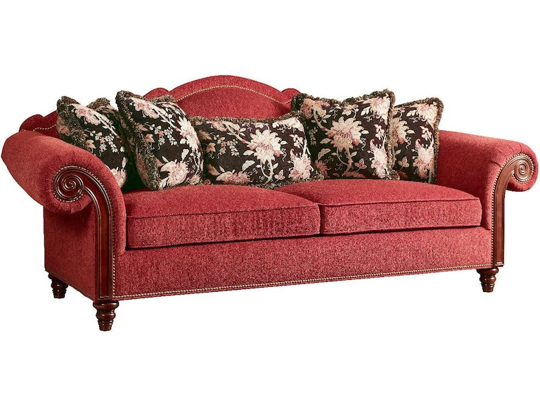 Marketplace F Sofa With Wood Arm Panel Mr505701 From Walter E Smithe Furniture