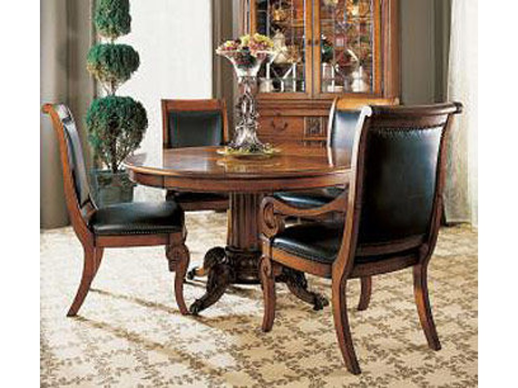 Fine furniture design dining room wine tasters pedestal for Fine dining room furniture