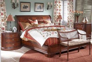 Fine Furniture Design Bedroom King Sleigh Bed 920 367 368 369