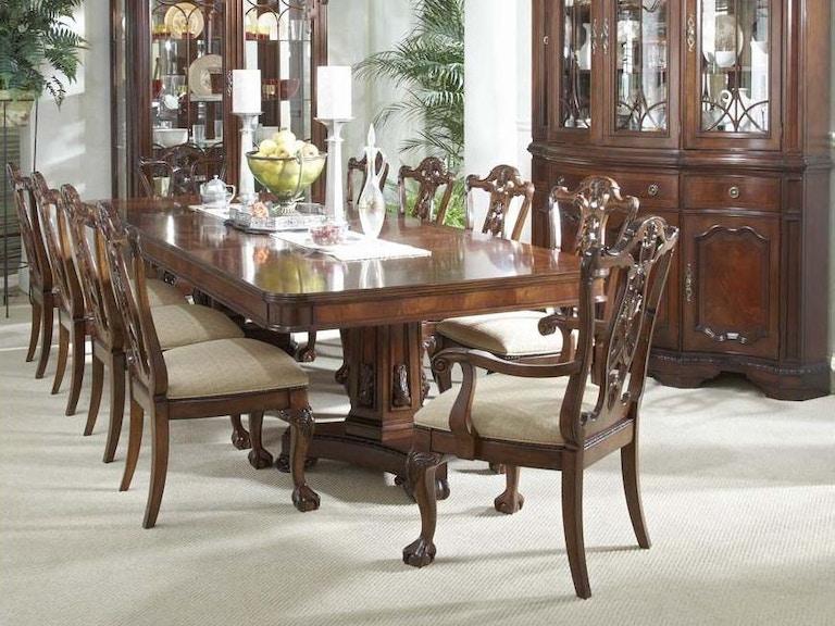 Fine Furniture Design Double Pedestal Table 920 818 819