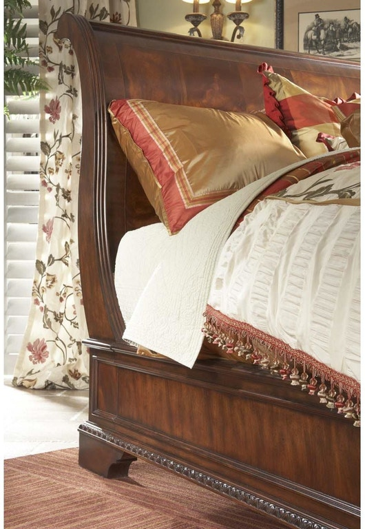 Fine Furniture Design Bedroom King Sleigh Bed 920 367 368