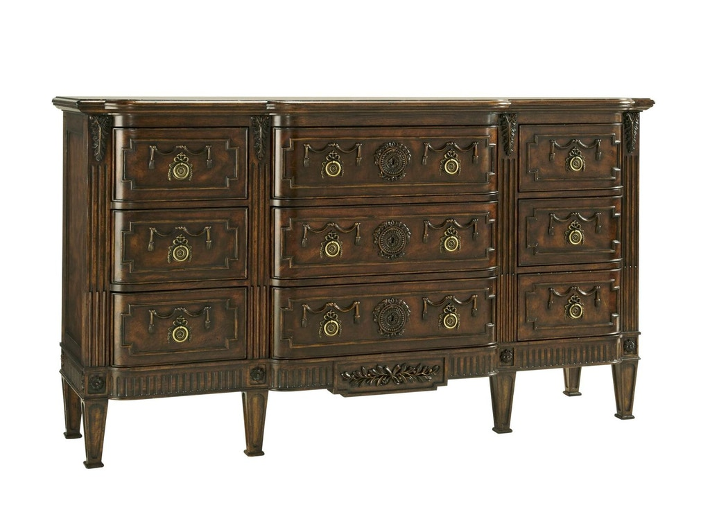 Fine Furniture Design Bedroom Triple Dresser 1340 124 Weinberger 39 S Furniture And Mattress