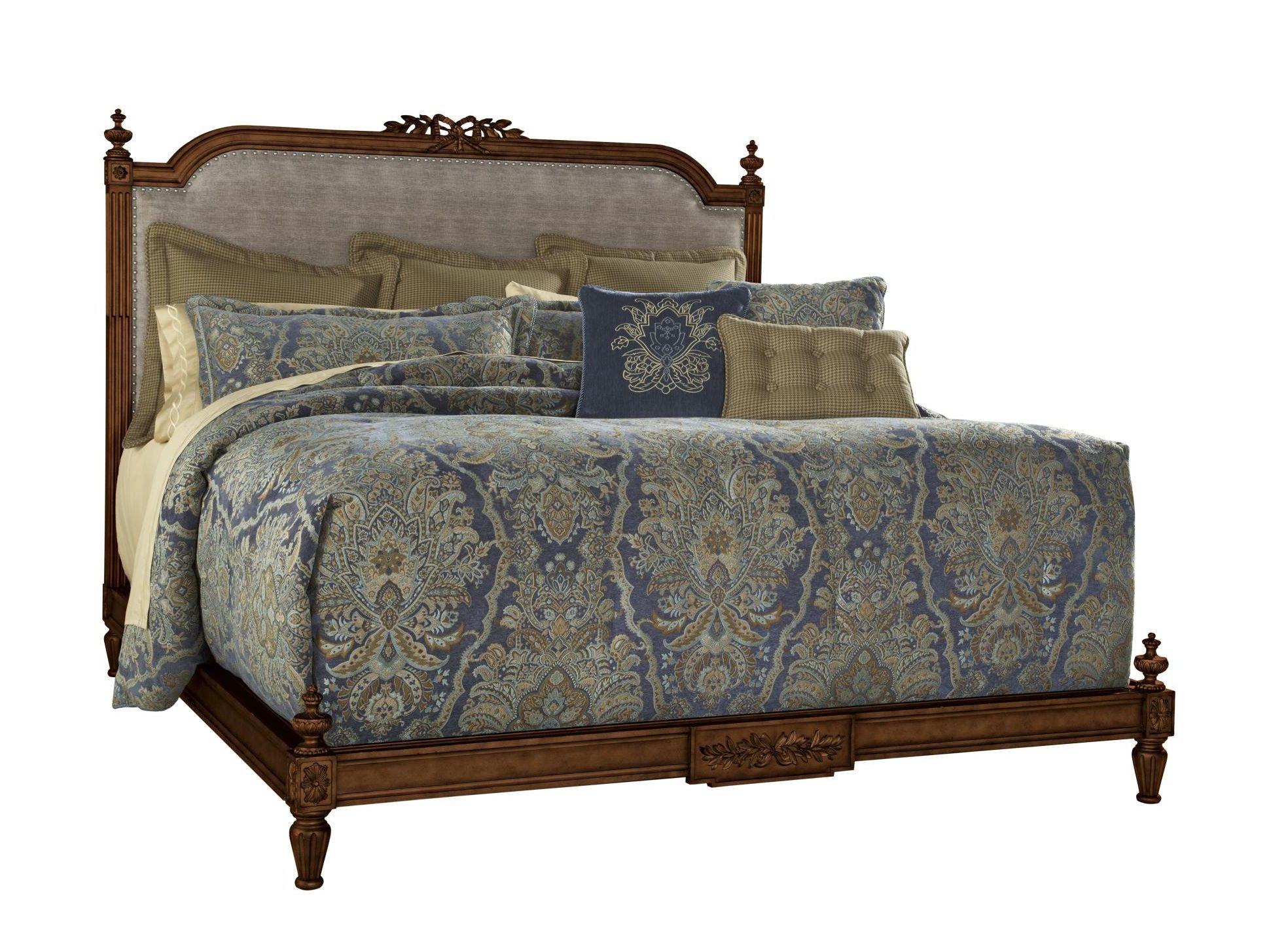 Fine Furniture Design Bedroom Boulevard King Bed Vanderbilt 1340 467