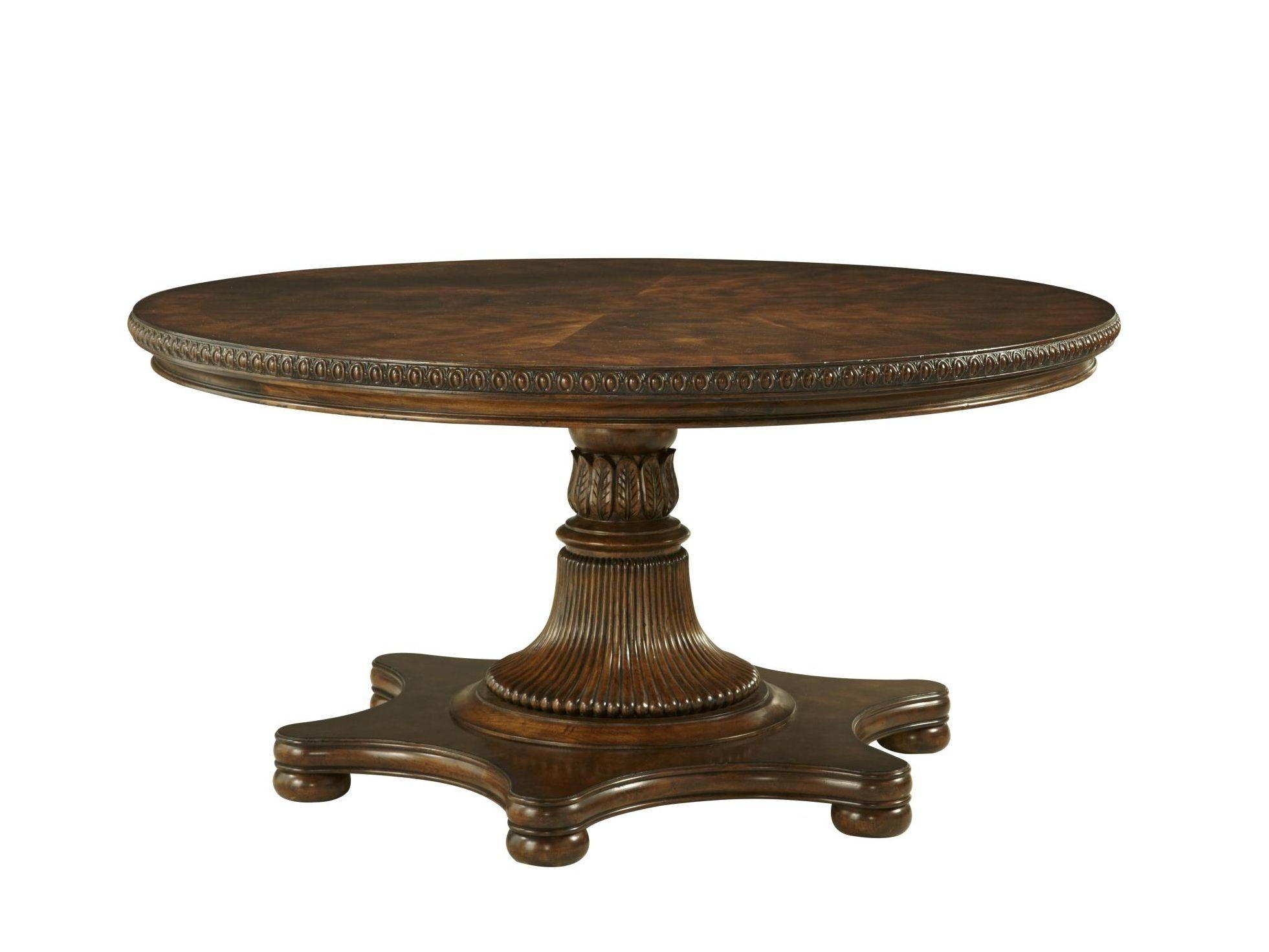 fine furniture design dining room balustrade round dining table 1344