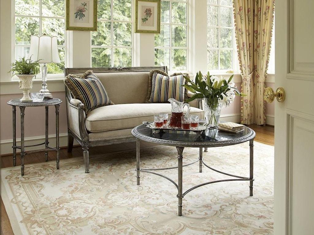 Fine Furniture Design Living Room Metal Cocktail Table