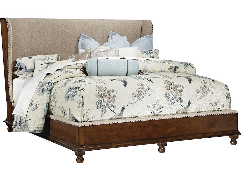 Upholstered Shelter King Bed Mr1370367368369