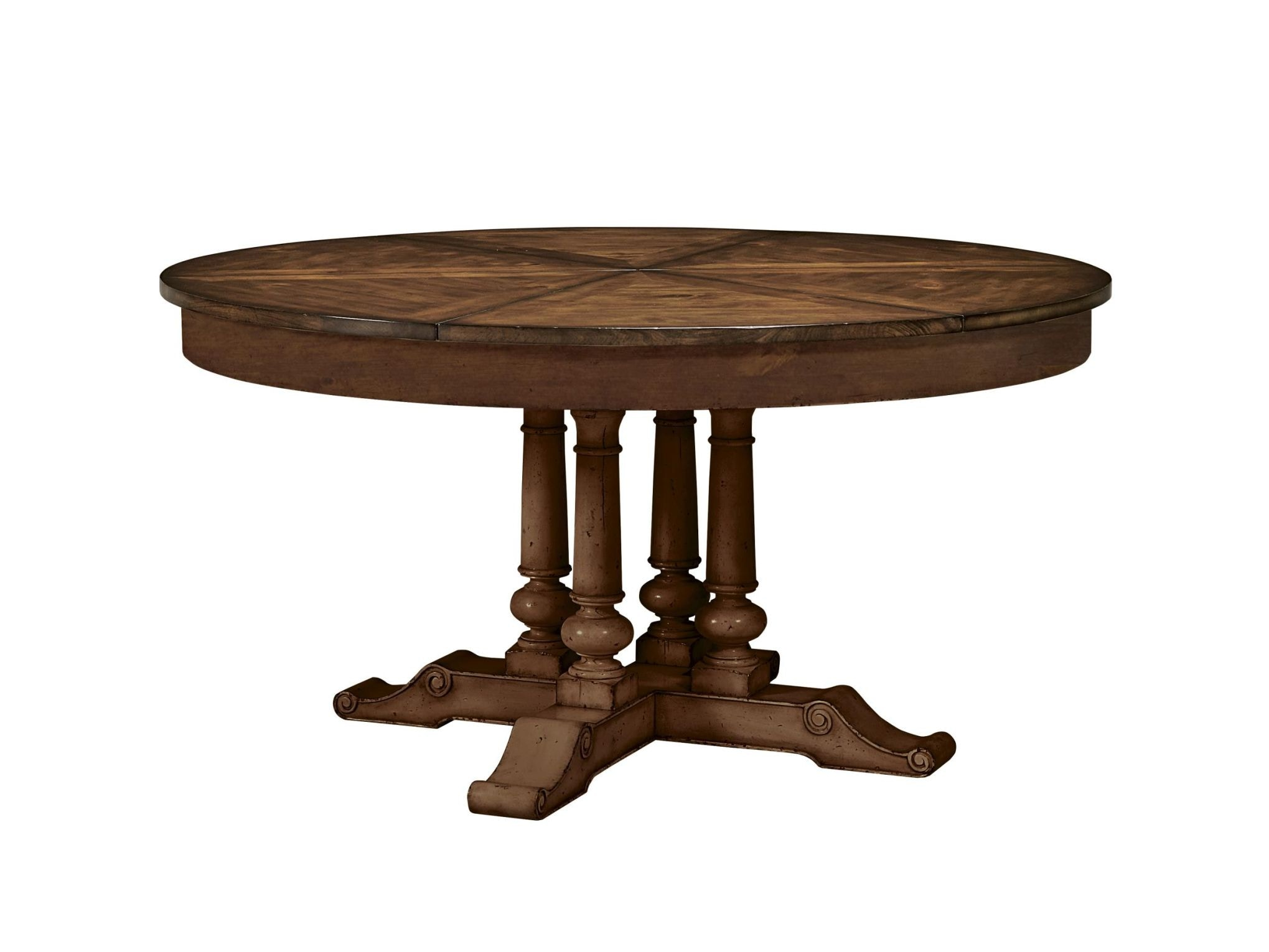 Fine Furniture Design Round Extending Dining Table 1370 810/811