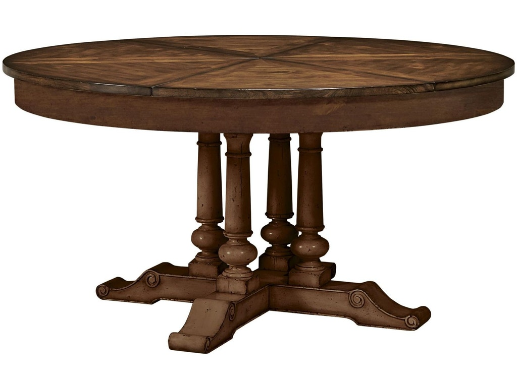 Fine furniture design dining room round extending dining for Fine dining room furniture