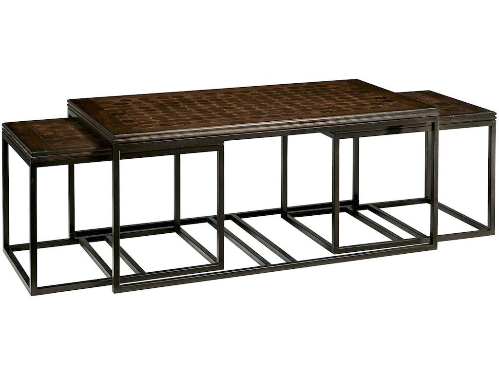 Fine furniture design living room nesting side table 1370 for Table design odessa fl