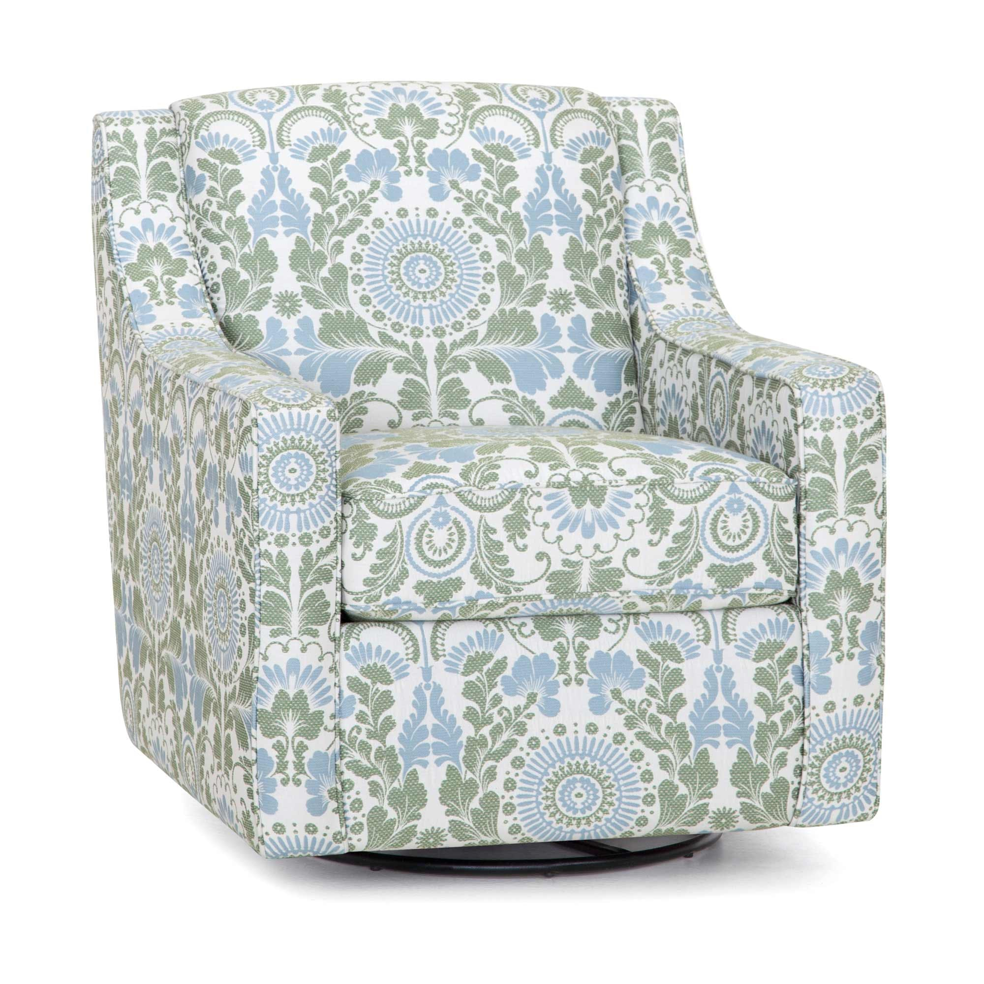Picture of: Franklin Living Room Swivel Accent Chair 2184 Furniture Market Austin Tx
