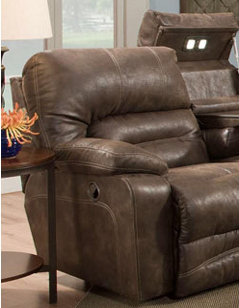 Franklin Living Room Power Recline Reclining Sofa W Drop Down Table