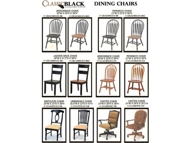 Gs Furniture Dining Room Monarch Chair