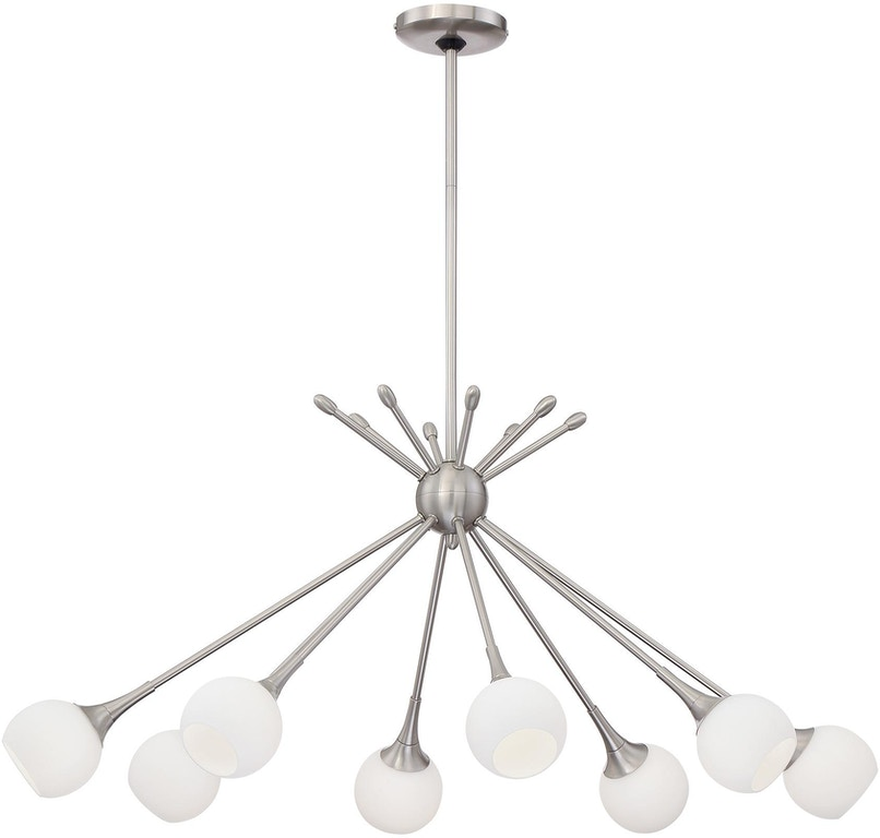 George Kovacs By Minka Lamps And Lighting Pontil 8 Light