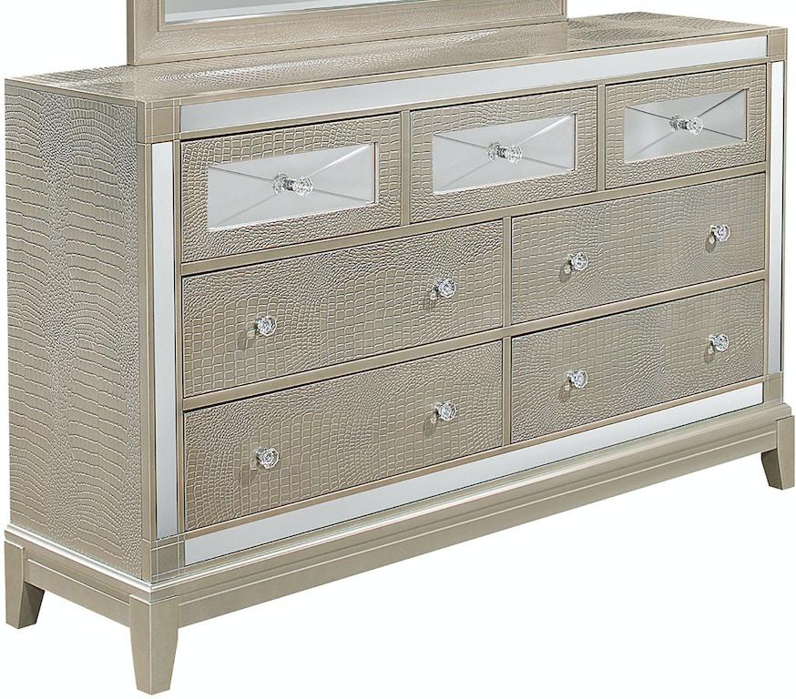 Usa Discount Furniture: Global Furniture USA Bedroom Dresser MIRROR-CHAMP-D