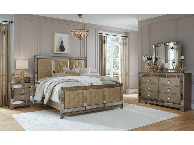 Global Furniture USA Bedroom Full Bed PORTOFINO-GOLD-FB ...