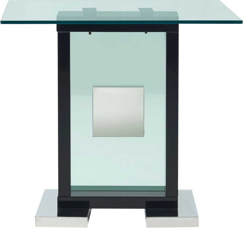 Global Furniture USA Living Room Black End Table T1182E-BL ...