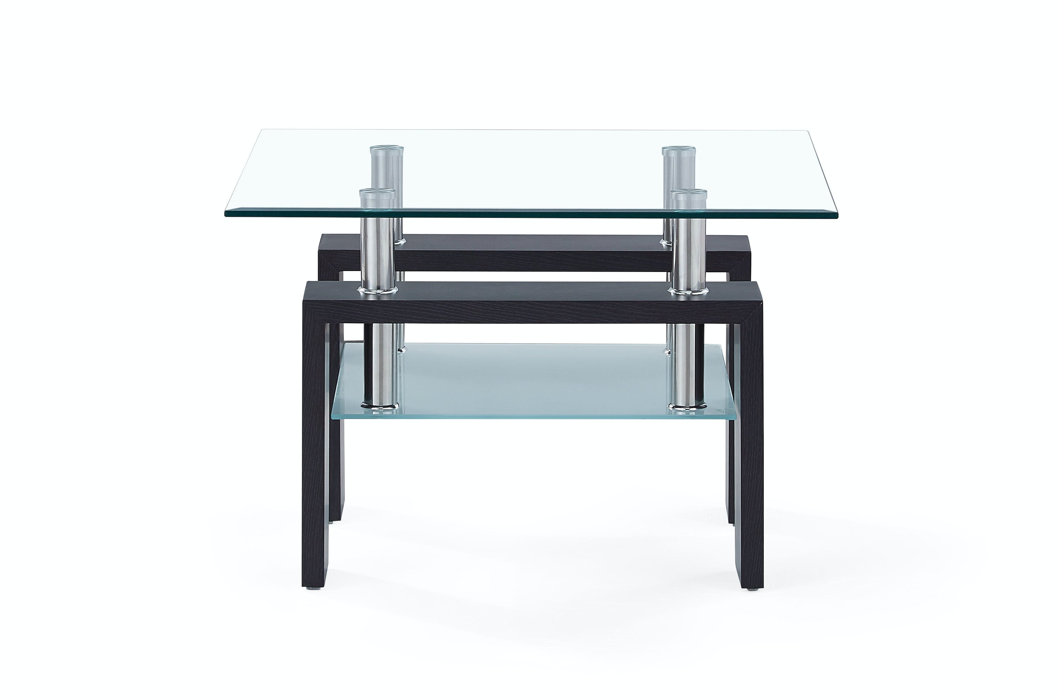 Picture of: Global Furniture Usa Living Room End Table Top Small Glass T646et Tg Bg Furniture Marketplace