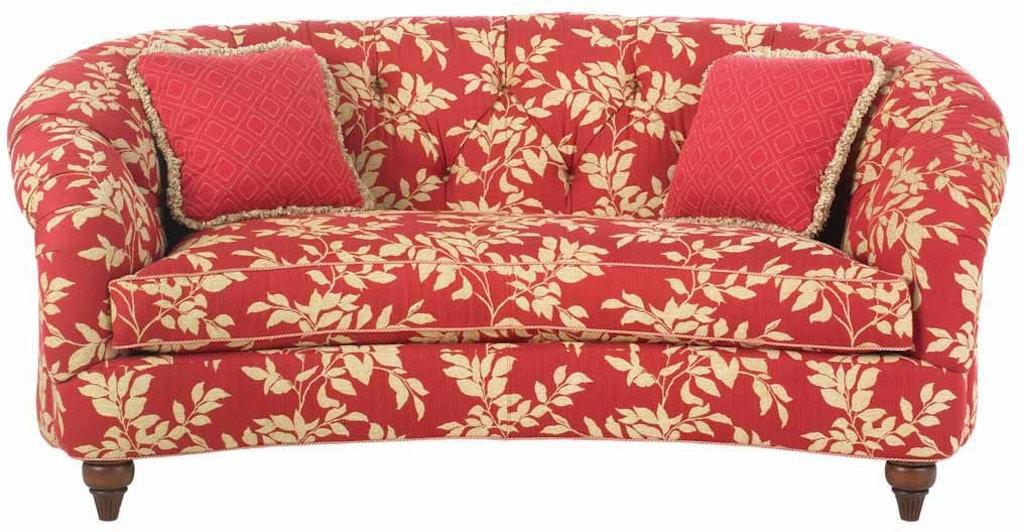Drexel Living Room Ruthanne One Cushion Sofa D249 S Alyson Jon