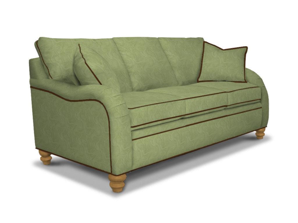 Drexel Natalie Three Cushion Sofa D69 S