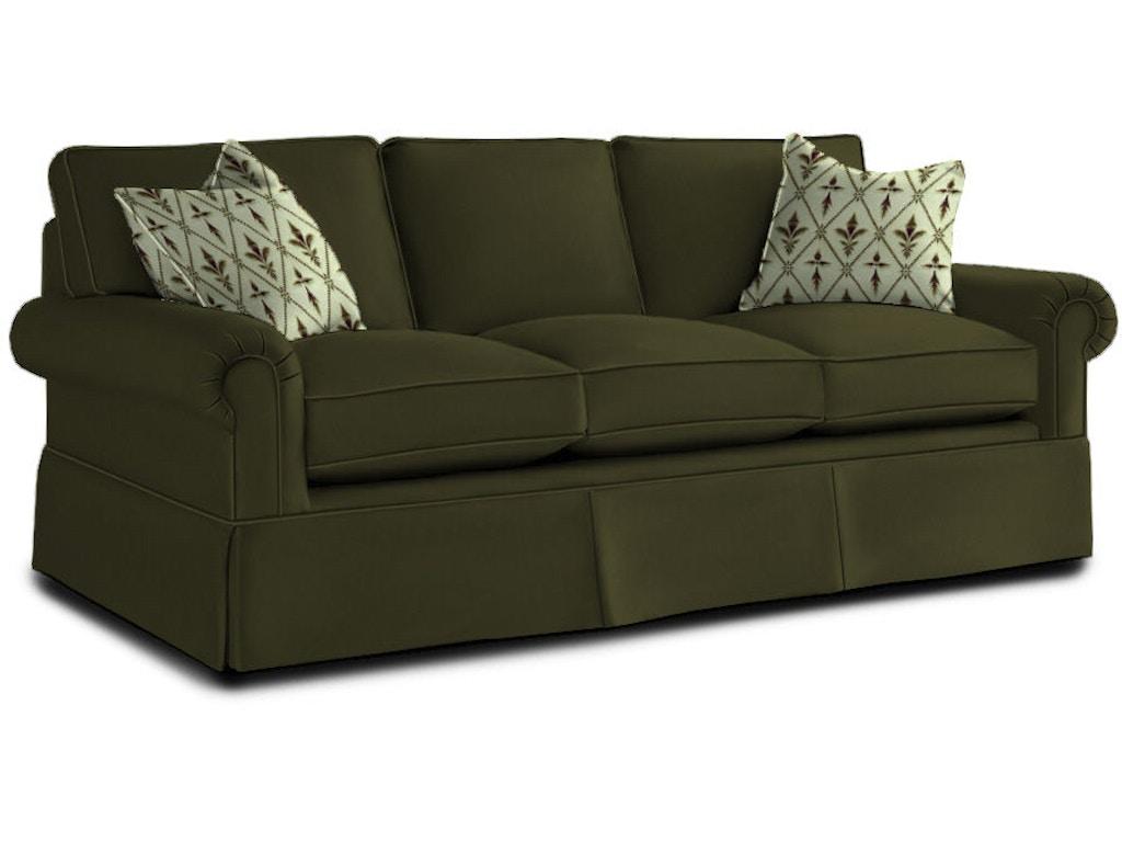 Drexel living room natalie three cushion sofa sleeper d69 for Sofa design for hall