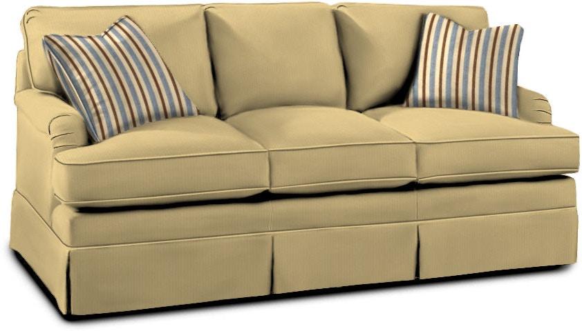 Drexel Living Room Holloway Three Cushion Sofa Sleeper D70