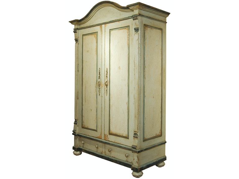 Habersham Plantation Corporation Bedroom Edwardian Armoire 17 7470