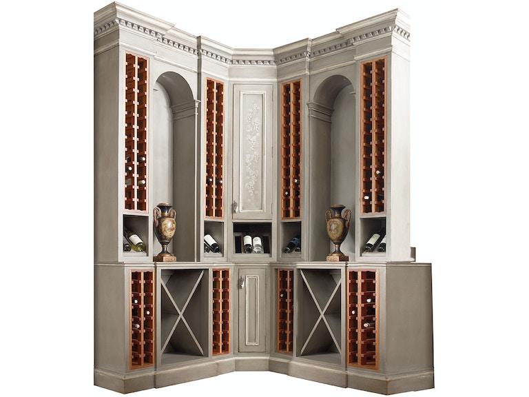 Habersham Home Sonoma Wine Corner Cabinet Hb232700