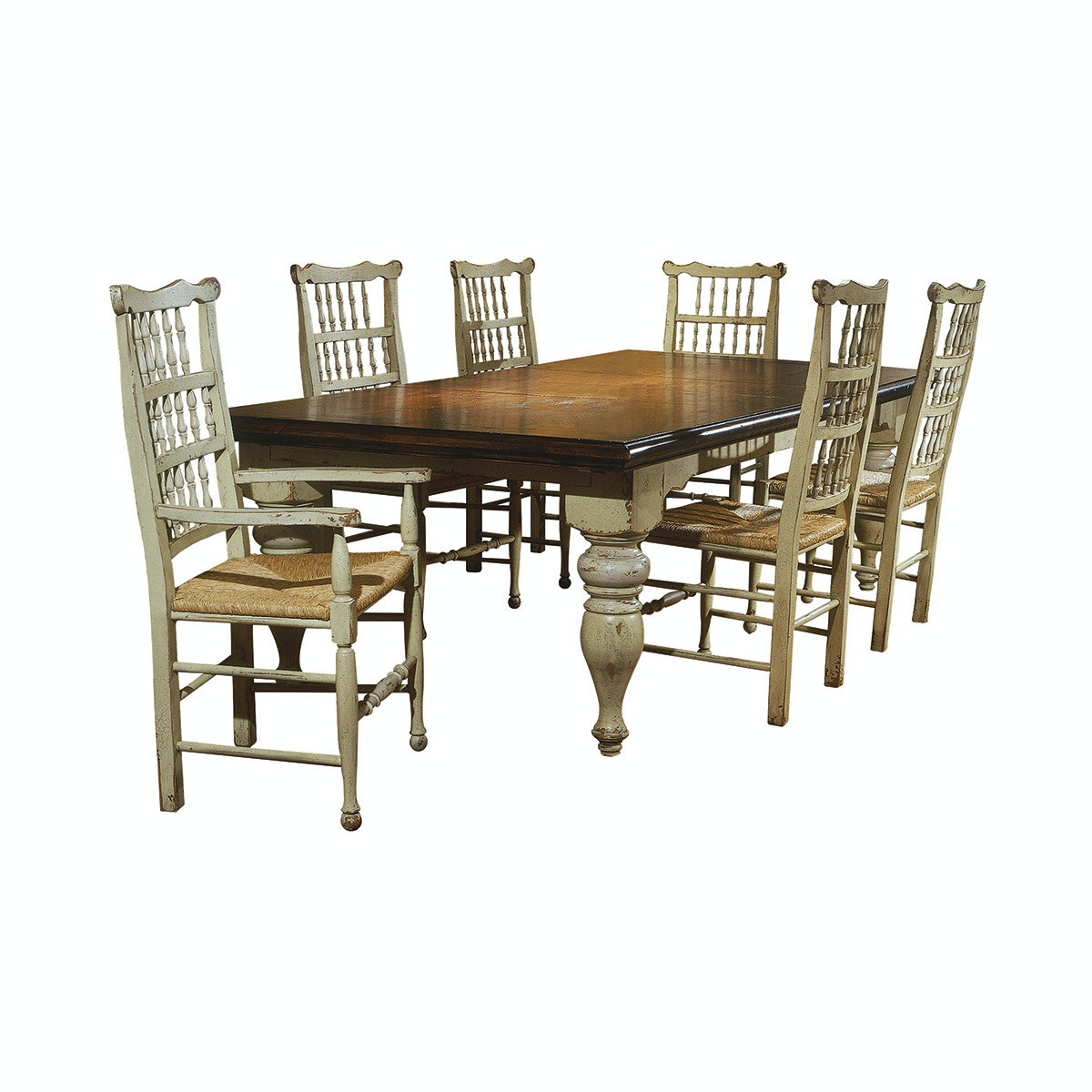 Ordinaire Habersham Home Harvest Table W/Two Leaves HB371010 From Walter E. Smithe  Furniture +